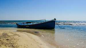 Boat in Cyprus
